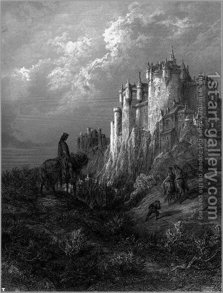Idylls of the King 14 by Gustave Dore - Reproduction Oil Painting