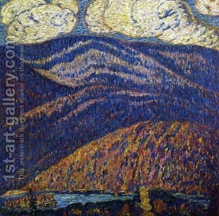 Hall of the Mountain King by Marsden Hartley - Reproduction Oil Painting