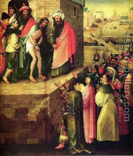 This is a human(Ecce Homo) by Hieronymous Bosch - Reproduction Oil Painting