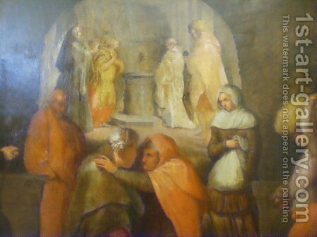 Last Supper 2 by Andrea Del Sarto - Reproduction Oil Painting