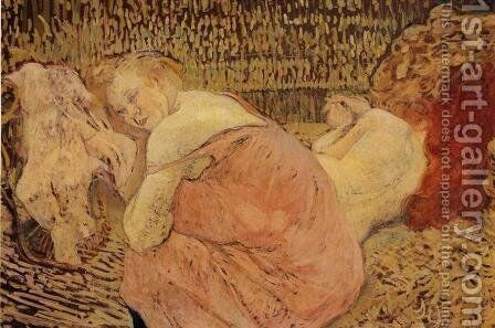 Two Friends 4 by Toulouse-Lautrec - Reproduction Oil Painting