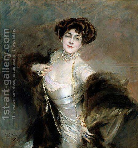 Diaz Albertini by Giovanni Boldini - Reproduction Oil Painting