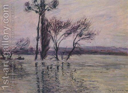 The Pointe de L Ile Under Water by Gustave Loiseau - Reproduction Oil Painting