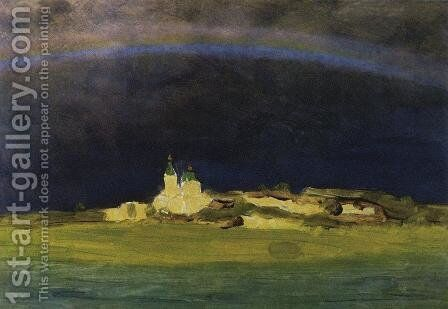 Rainbow 3 by Arkhip Ivanovich Kuindzhi - Reproduction Oil Painting