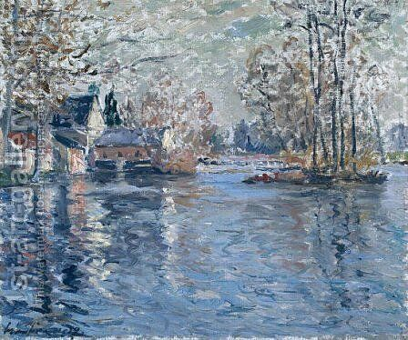 The Dam of a Loir Ponce by Maxime Maufra - Reproduction Oil Painting