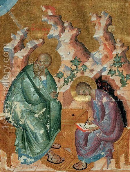 St. John the Evangelist by Andrei Rublev - Reproduction Oil Painting