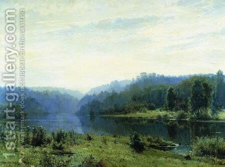Misty Morning 2 by Ivan Shishkin - Reproduction Oil Painting