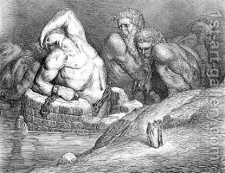 Ephialtes by Gustave Dore - Reproduction Oil Painting