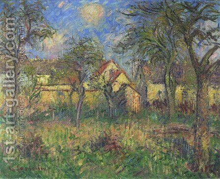 The Garden by Gustave Loiseau - Reproduction Oil Painting