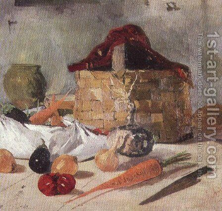 Still Life by Ion Andreescu - Reproduction Oil Painting