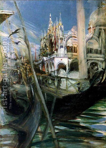 Venice by Giovanni Boldini - Reproduction Oil Painting