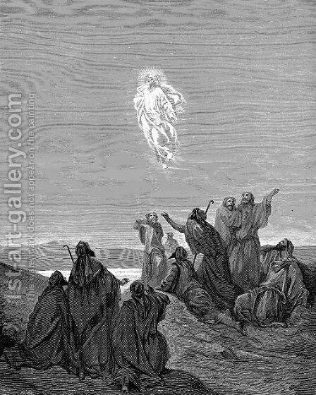 The Ascension 2 by Gustave Dore - Reproduction Oil Painting