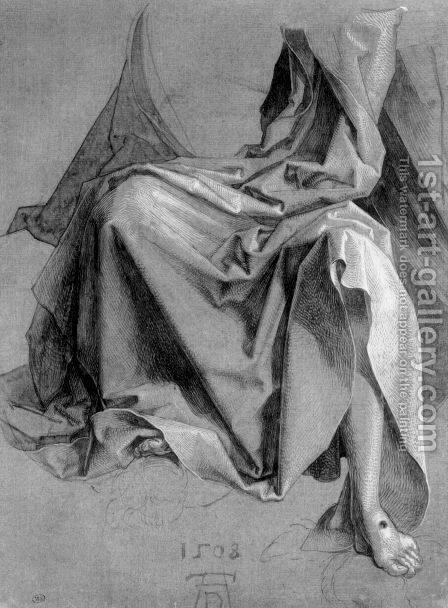 The garment of Christ by Albrecht Durer - Reproduction Oil Painting