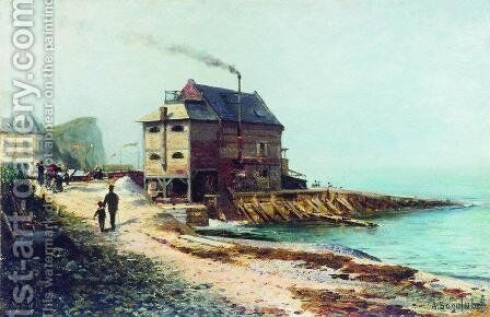 Vel. Normandy by Aleksei Petrovich Bogolyubov - Reproduction Oil Painting