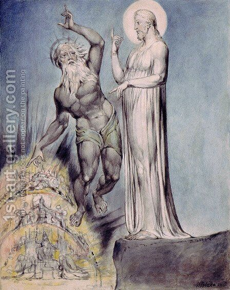 Illustration to Milton's Comus 6 by William Blake - Reproduction Oil Painting