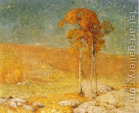 October Summer by Emil Carlsen - Reproduction Oil Painting