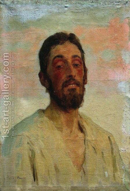 Portrait of a Man 3 by Ilya Efimovich Efimovich Repin - Reproduction Oil Painting