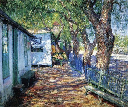 San Gabriel Road by Guy Rose - Reproduction Oil Painting