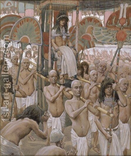 The Glory of Joseph by James Jacques Joseph Tissot - Reproduction Oil Painting