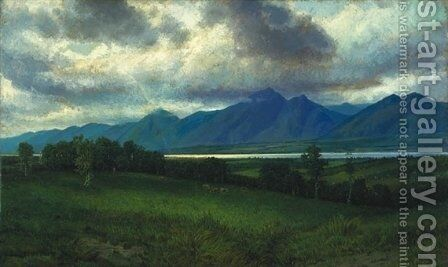 Down in the Laurentides by Homer Watson - Reproduction Oil Painting