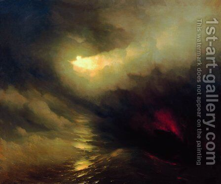 Creation of the World by Ivan Konstantinovich Aivazovsky - Reproduction Oil Painting