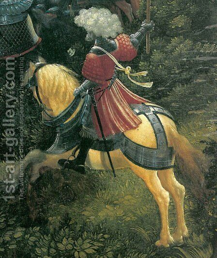 The battle of Issus(fragment) 9 by Albrecht Altdorfer - Reproduction Oil Painting