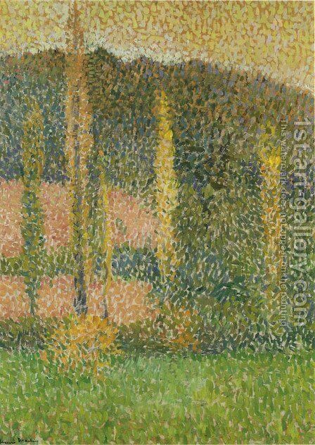 On The Prairie by Henri Martin - Reproduction Oil Painting