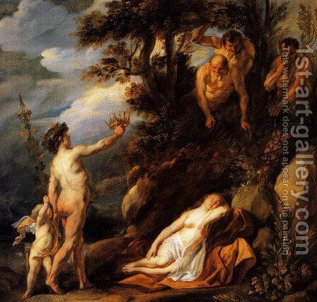 Bacchus and Ariadne by Jacob Jordaens - Reproduction Oil Painting