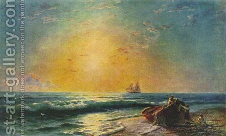 The Sunrize by Ivan Konstantinovich Aivazovsky - Reproduction Oil Painting