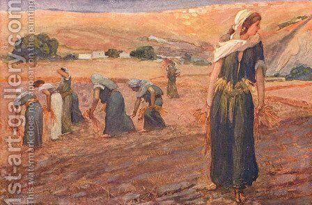 Gleaners, as in Deuteronomy by James Jacques Joseph Tissot - Reproduction Oil Painting