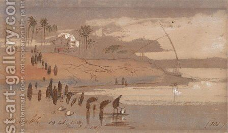 Howatke by Edward Lear - Reproduction Oil Painting