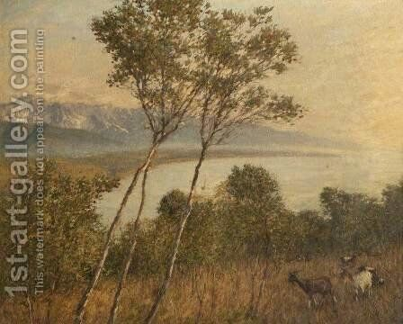 Ligurian Artrobus by Henry Herbert La Thangue - Reproduction Oil Painting