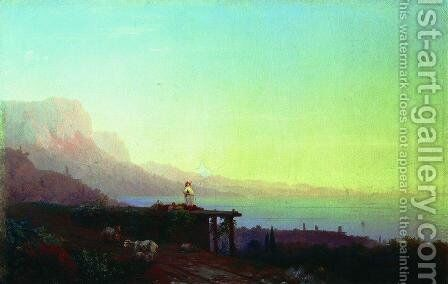 Southern night. Crimea by Ivan Konstantinovich Aivazovsky - Reproduction Oil Painting