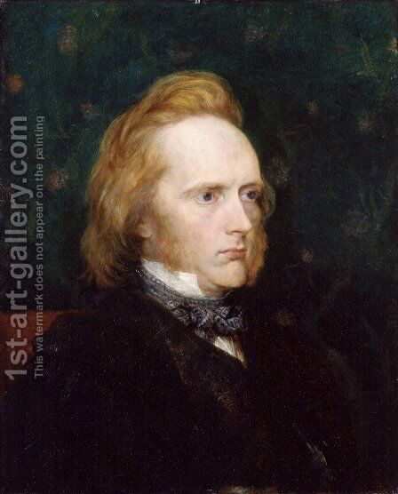 George Douglas Campbell, 8th Duke of Argyll by George Frederick Watts - Reproduction Oil Painting