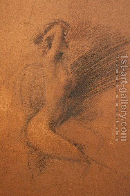 Nude 2 by Giovanni Boldini - Reproduction Oil Painting