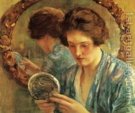 Marion by Guy Rose - Reproduction Oil Painting