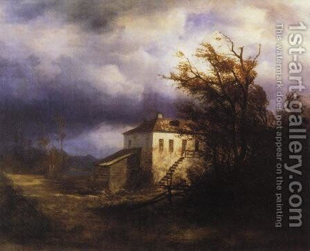 Before the Storm by Alexei Kondratyevich Savrasov - Reproduction Oil Painting