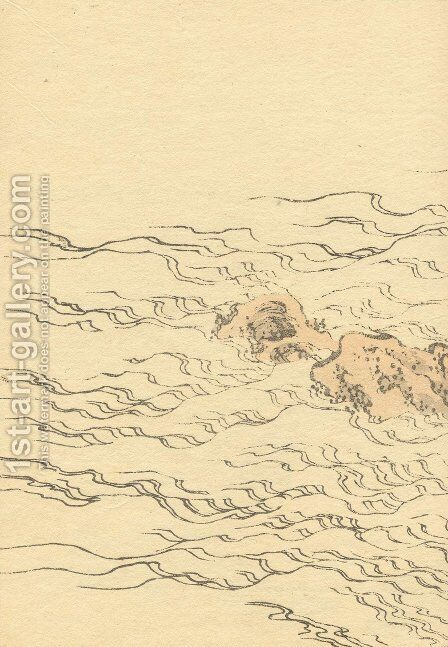 Unknown 1130 by Katsushika Hokusai - Reproduction Oil Painting