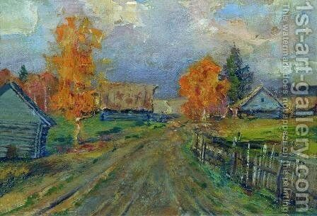Autumn landscape 2 by Isaak Ilyich Levitan - Reproduction Oil Painting