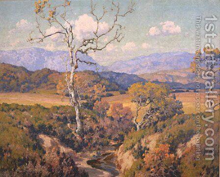 Autumn Tints by Maurice Braun - Reproduction Oil Painting
