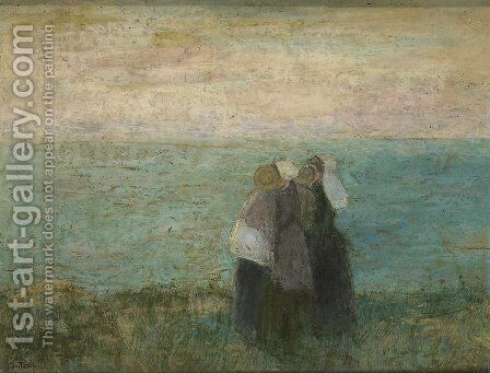 Women at the sea by Jan Toorop - Reproduction Oil Painting