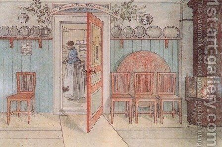 Old Anna by Carl Larsson - Reproduction Oil Painting