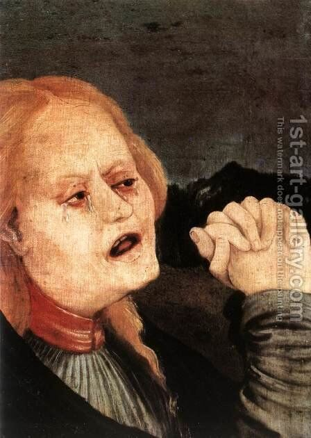 Unknown 9 by Matthias Grunewald (Mathis Gothardt) - Reproduction Oil Painting