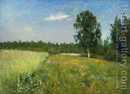 A day in June by Isaak Ilyich Levitan - Reproduction Oil Painting