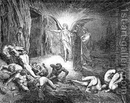 The Angel by Gustave Dore - Reproduction Oil Painting