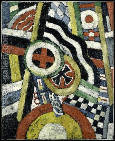 Painting, Number 5 by Marsden Hartley - Reproduction Oil Painting