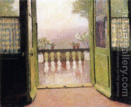 The Terrace 3 by Henri Martin - Reproduction Oil Painting