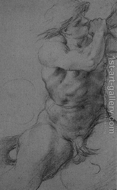 Triton by Annibale Carracci - Reproduction Oil Painting
