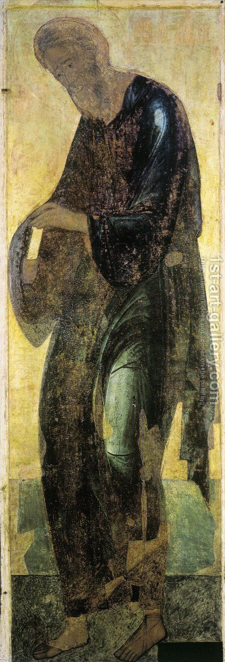 Saint Andrew by Andrei Rublev - Reproduction Oil Painting