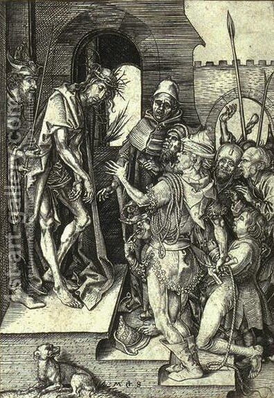 Ecce Homo by Martin Schongauer - Reproduction Oil Painting